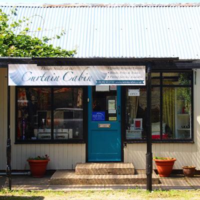 Curtain Cabin showroom